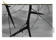Thorns In Silouette Carry-all Pouch