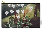 Thornton: Cyclamen Carry-all Pouch