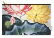 Thornton: Lotus Flower Carry-all Pouch