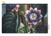 Thornton: Passion-flower Carry-all Pouch by Granger
