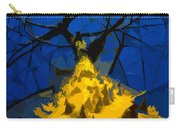 Thorny Tree Blue Sky Carry-all Pouch