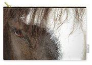 Thoroughbred Portrait One Carry-all Pouch