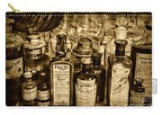 Those Old Apothecary Bottles In Sepia Carry-all Pouch