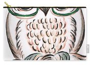 Owl- Those Spectacles  Carry-all Pouch