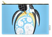 Thoughts And Colors Series Penguin Carry-all Pouch