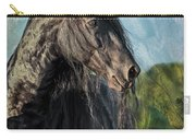 Thoughts Of Friesians Carry-all Pouch