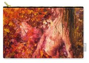 Thoughts Of Pleasure - Palette Knife Oil Painting On Canvas By Leonid Afremov Carry-all Pouch