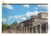 Thousand Columns And Temple Of The Warriors Carry-all Pouch