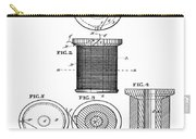 Thread Spool Patent 1877  Carry-all Pouch