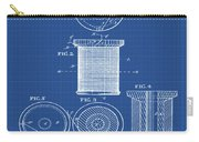 Thread Spool Patent 1877 Blueprint Carry-all Pouch