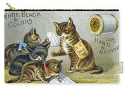 Thread Trade Card, 1880 Carry-all Pouch