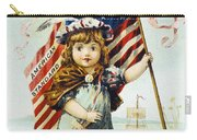 Thread Trade Card, C1880 Carry-all Pouch by Granger