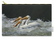 Three American Pelicans Carry-all Pouch