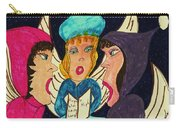 Three Angel Carolers Carry-all Pouch