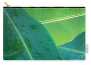 Three Banana Leaves Carry-all Pouch