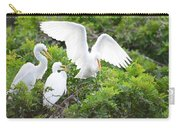 Three Birds Of A Feather Flock Together Carry-all Pouch