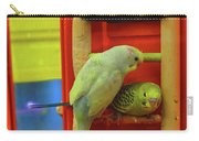 Three Budgies Carry-all Pouch