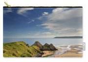 Three Cliffs Bay 4 Carry-all Pouch
