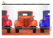 Three Colored Cars Carry-all Pouch