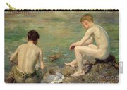 Three Companions Carry-all Pouch by Henry Scott Tuke