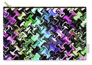 Three-d Dimensional Abstract Design Carry-all Pouch