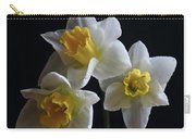 Three Daffodil Carry-all Pouch