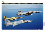 Three F-5e Tiger II Fighter Aircraft Carry-all Pouch
