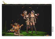 Three Fairies At A Pond Carry-all Pouch