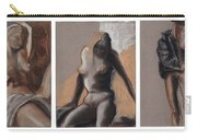 Three Figures - Triptych Carry-all Pouch