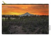 Mount Jefferson At Sunset Carry-all Pouch
