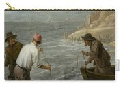 Three Fishermen Casting Their Nets Carry-all Pouch