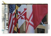 Three Flags Carry-all Pouch