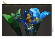 Three Glass Flowers Carry-all Pouch