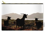 Three Goats Carry-all Pouch