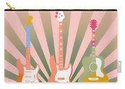 Three Guitars Pop Art Carry-all Pouch