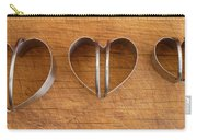 Three Heart Cutters Carry-all Pouch