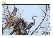 Three Herons Carry-all Pouch