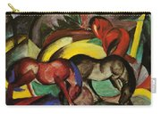 Three Horses 1912 Carry-all Pouch