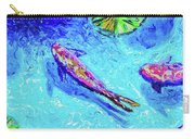 Three Koi Carry-all Pouch