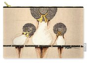 Three Ladies On A Dock  Carry-all Pouch