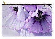 Three Lavender Cosmos Carry-all Pouch