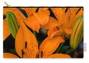 Three Lilies Carry-all Pouch