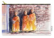 Three Little Monks Carry-all Pouch