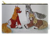 Three Little Ponies Carry-all Pouch