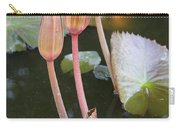 Three Lotus Buds Carry-all Pouch