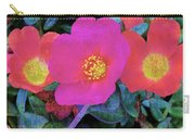 Three Lovely Flowers Carry-all Pouch