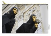 Three Muses On The Lithuanian National Dramatic Theatre In Vilnius Carry-all Pouch