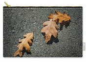 Three Oak Leaves Carry-all Pouch