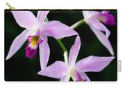 Three Orchids Carry-all Pouch