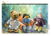 Three Paddingtons At Newby Hall Carry-all Pouch